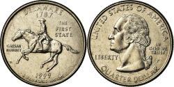 Us Coins - Coin, United States, Delaware, Quarter, 1999, U.S. Mint,