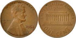 Us Coins - United States, Lincoln Cent, Cent, 1964, U.S. Mint, Philadelphia,