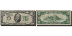 Us Coins - Banknote, United States, Ten Dollars, 1934, 1934, KM:2039, VF(20-25)