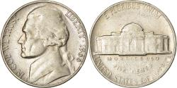 Us Coins - Coin, United States, Jefferson Nickel, 5 Cents, 1966, U.S. Mint, Philadelphia