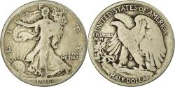 Us Coins - Coin, United States, Walking Liberty Half Dollar, Half Dollar, 1916, U.S. Mint