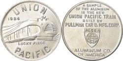 Us Coins - United States of America, Token, Union Pacific Train, Aluminium oCo. of America