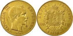 World Coins - Coin, France, Napoleon III, Napoléon III, 100 Francs, 1858, Paris,