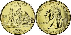 Us Coins - Coin, United States, California, Quarter, 2005, U.S. Mint, , Gold