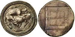 Ancient Coins - Coin, Macedonia, Akanthos, Tetradrachm, MS(60-62), Silver, HGC:3-385