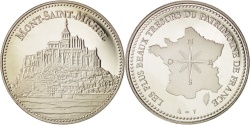 World Coins - FRANCE, Arts & Culture, The Fifth Republic, Medal, , Nickel, 41, 30.00