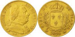 Ancient Coins - Coin, France, Louis XVIII, 20 Francs, 1814, Paris, EF(40-45), Gold, KM 706.1