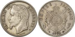 World Coins - France, Napoleon III, Franc, 1868, Paris, , Silver, KM:806.1