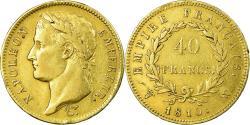 World Coins - Coin, France, Napoléon I, 40 Francs, 1810, Lille, , Gold, KM:696.6