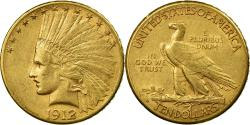 Us Coins - Coin, United States, Indian Head, $10, Eagle, 1912, U.S. Mint, San Francisco