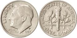 Us Coins - United States, Roosevelt Dime, Dime, 1987, U.S. Mint, Philadelphia,