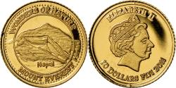 World Coins - Coin, Fiji, Elizabeth II, Mont Everest - Népal, 10 Dollars, 2011,