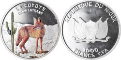 World Coins - Coin, Niger, 1000 Francs, 2013, Proof, , Silver, KM:20