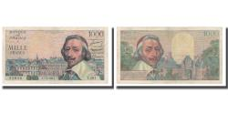 World Coins - France, 1000 Francs, 1956, 1956-10-04, AU(50-53), Fayette:42.22, KM:134a