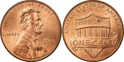 Us Coins - Coin, United States, Cent, 2014, U.S. Mint, , Copper Plated Zinc