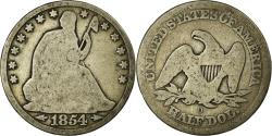 Us Coins - Coin, United States, Seated Liberty Half Dollar, Half Dollar, 1854, U.S. Mint
