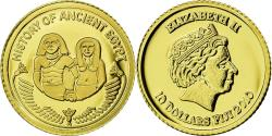 World Coins - Coin, Fiji, 10 Dollars, 2010, Sennefer, , Gold