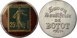 World Coins - Coin, France, Savon Dentifrice de Botot, 25 Centimes, Timbre-Monnaie,