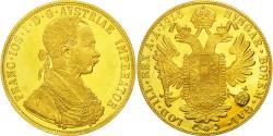 Ancient Coins - Coin, Austria, Franz Joseph I, 4 Ducat, 1915, Vienne, Official restrike, MS(64)
