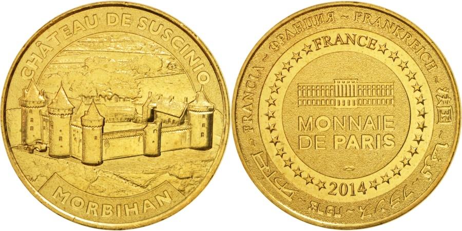 World Coins - France, Touristic token, 56/ Château de Suscinio, 2014, Monnaie de Paris