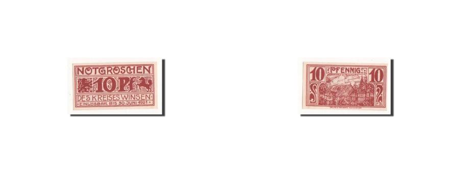 World Coins - Germany, Winsen a.d luhe, 10 Pfennig, ferme, Undated, UNC(65-70), Mehl:1434.1