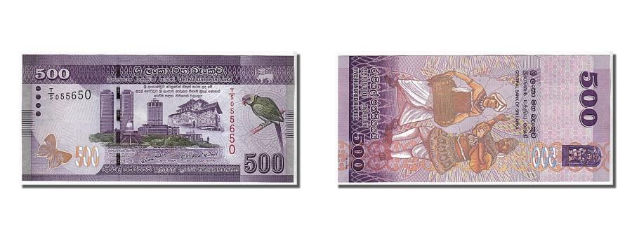 World Coins - Sri Lanka, 500 Rupees, 2010, KM #126a, UNC(65-70), T/5 055650