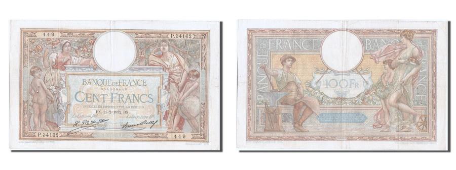 World Coins - France, 100 Francs, 100 F 1908-1939 ''Luc Olivier Merson'', 1932, KM #78b,...