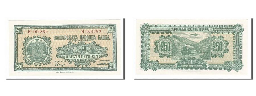 World Coins - Bulgaria, 250 Leva, 1948, KM #76a, UNC(65-70), H404889