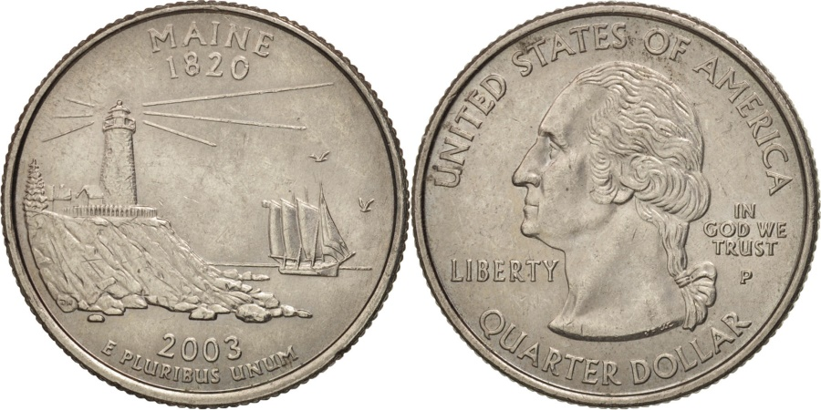 US Coins - United States, Quarter, 2003, U.S. Mint, Philadelphia, , KM 345