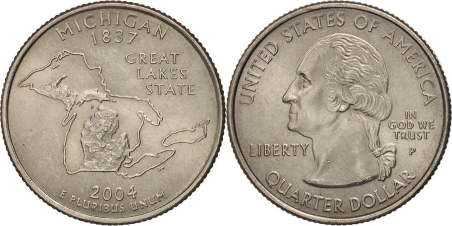 US Coins - United States, Quarter, 2004, U.S. Mint, Philadelphia, , KM 355