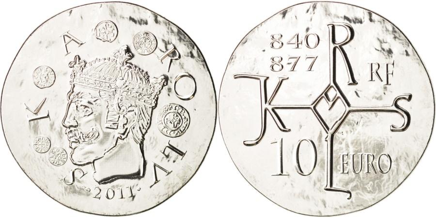 World Coins - France, 10 Euro, 2011, Paris, , Silver, KM:1804