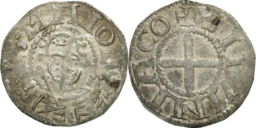 World Coins - Coin, France, Bourbonnais, Denarius, Souvigny, EF(40-45), Silver, Boudeau:358