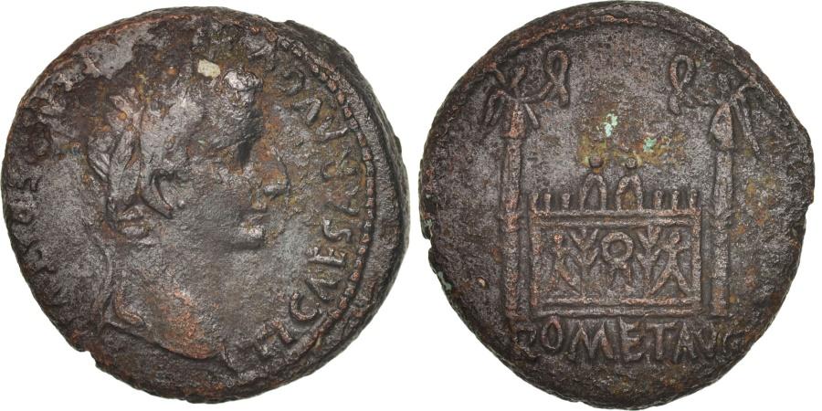 Ancient Coins - Tiberius, As, Lyons, , Bronze, RIC:245