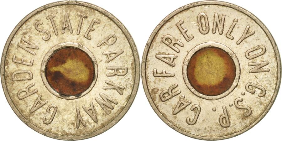 US Coins - United States, Token, Garden State Parkway