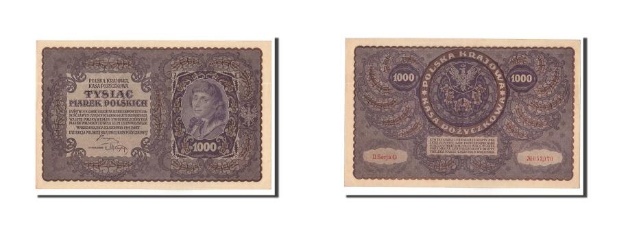 World Coins - Poland, 1000 Marek, 1919, KM:29, 1919-08-23, UNC(63)