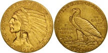 Us Coins - United States, Indian Head, $5, 1910, Philadelphia, AU(50-53), Gold, KM 129