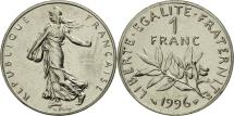 World Coins - France, Semeuse, Franc, 1996, Paris, MS(65-70), Nickel, KM:925.1, Gadoury:474
