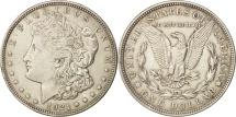 Us Coins - United States, Morgan Dollar, 1921, U.S. Mint, San Francisco, AU(55-58), Silver