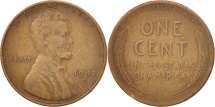 Us Coins - United States, Lincoln Cent, Cent, 1947, U.S. Mint, San Francisco, VF(20-25)