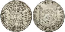 World Coins - Bolivia, Charles III, 8 Réales, 1770, Potosi, EF(40-45), Silver, KM:50
