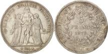 France, Hercule, 5 Francs, 1878, Bordeaux, Silver, KM:820.2, Gadoury:745a