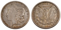 Us Coins - UNITED STATES, Morgan Dollar, Dollar, 1921, U.S. Mint, KM #110, EF(40-45),...
