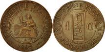 World Coins - FRENCH INDO-CHINA, Cent, 1898, Paris, AU(50-53), Bronze, KM:1