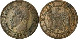 World Coins - Coin, France, Napoleon III, Centime, 1853, Rouen, , KM 775.2