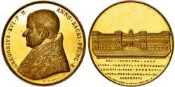 World Coins - Vatican, Medal, Grégoire XVI, Palais via Ripetta, 1840, Cerbara,