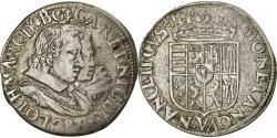 World Coins - Coin, France, LORRAINE, Charles IV et Nicole, Teston, Teston, 1624, Nancy