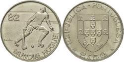 World Coins - Coin, Portugal, 2-1/2 Escudos, 1982, Lisbon, , Copper-nickel, KM:613