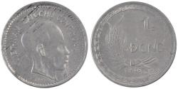 World Coins - VIET NAM, Dong, 1946, KM #3, , Aluminum, 4.43