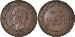 World Coins - France, Token, Napoléon III, Visite impériale à Lille, 1853, Module de 10