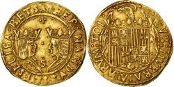 Ancient Coins - Coin, Spain, Ferdinand & Isabella, Doble Excelente, Sevilla, , Gold